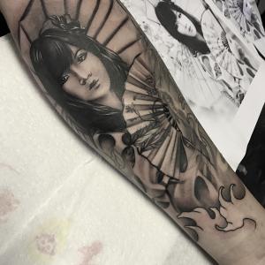 Part of japanese style full sleeve pro