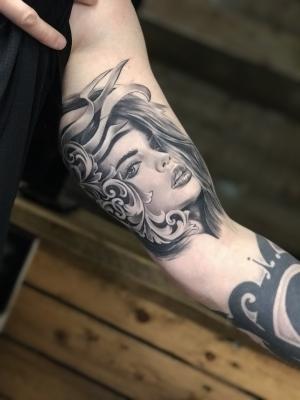 Healed,part of half sleeve pro