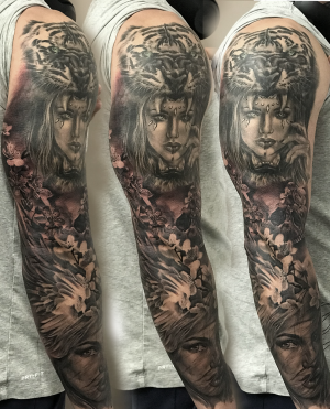 Full sleeve outer part