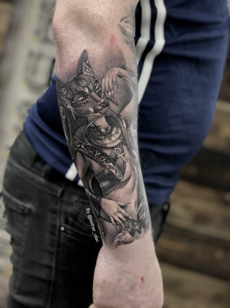 2nd part of the Egyptian themed sleeve